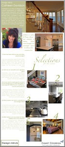 Casart coverings features Cathleen_Davidson on Slipcovers for your walls, casartblog