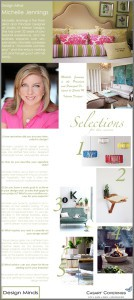 Casart Coverings features Design Mind_Michelle Jennings Wiebe on Slipcovers for your walls, casartblog