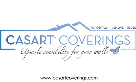 Casart Coverings logo_custom, designer, removable wallpaper