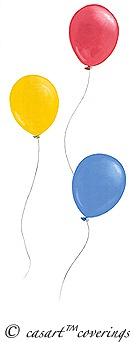 celebratory balloons from casart coverings