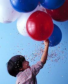 balloons via Martha Stewart kids_casartblog