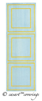 Casart coverings Architectural Faux Panel temporary wallpaper in assorted colors_casartblog
