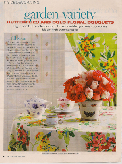 butterfly-design-Better Homes and Gardens- Decorating-Summer 2009