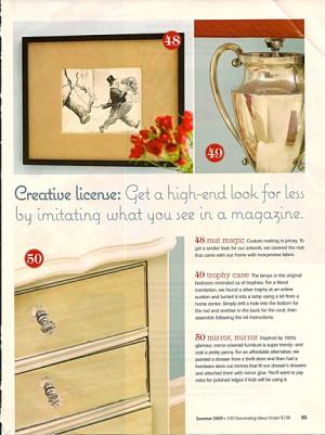 100 Decorating Ideas Under $100. Better Homes and Gardens_casartblog