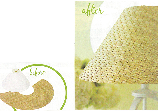 shadeso-of-light from Better Homes and Gardens 100 ideas Makeover Style Magazine