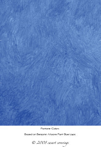 Casart colorwash blue lapis, as seen on Slipcovers for your walls, casartblog