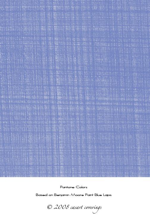 Casart faux linen lapis blue