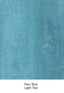 Casart light blue faux bois, as seen on Slipcovers for your walls, casartblog