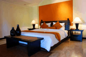 Orange interior design_casartblog