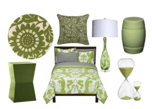 Green Accents from Shelter Pop_casartblog