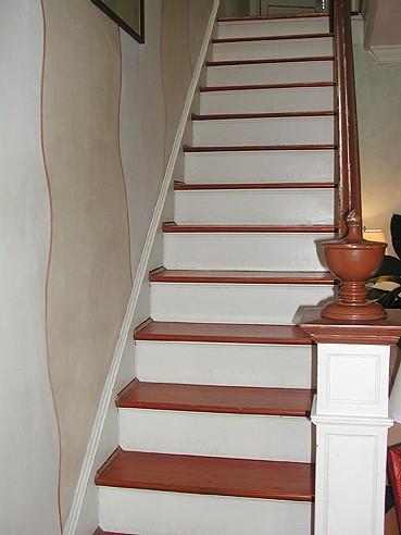stairs before Casart coverings on Slipcovers for your walls