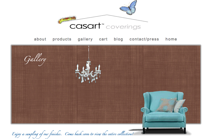 casart-faux-linen-gallery_casartblog, as seen on Slipcovers for your walls