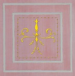 Casart Scroll Panel Insert in assorted colors