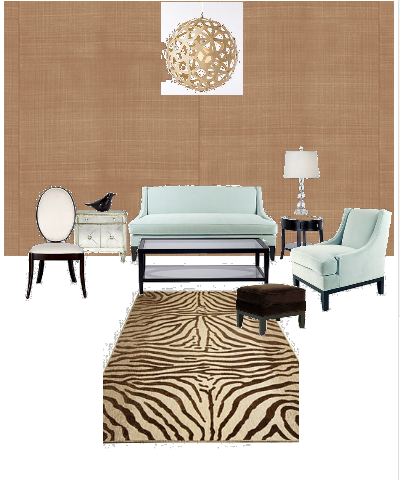 Casart coverings Kaboodle Living Room Concept2