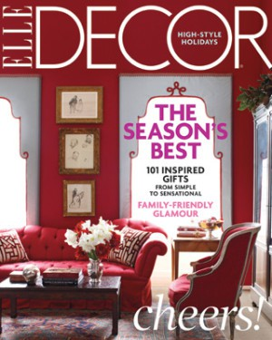 Elle Decor, Season's Best, Holiday Issue, December 2009_casartblog