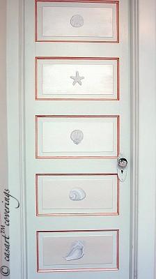Casart Faux Plaster Door Panels on Slipcovers for your walls, casartblog
