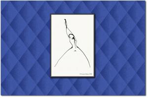 Les Liens Affectifs with Casart coverings harlequin temporary wallpaper background_casartblog