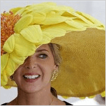 Big sunflower Derby hat_casartblog