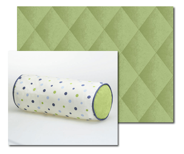 green_harlequin_casart_with_bolster, as seen on Slipcovers for your walls, casartblog