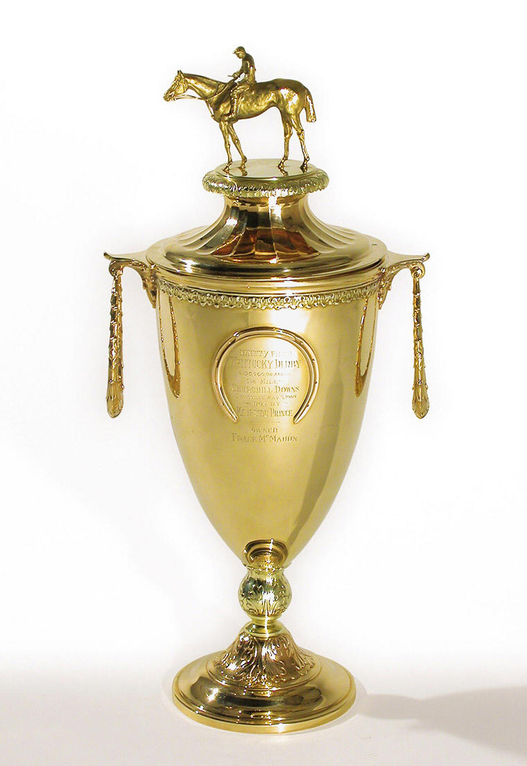 Kentucky Derby trophy_casartblog