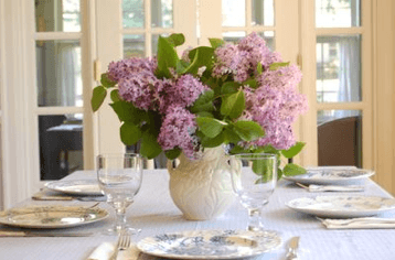lilac bouquet on Slipcovers for your walls, casartblog