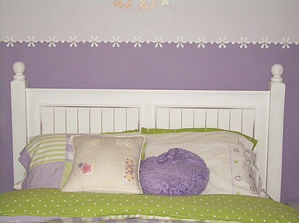 Bedroom before Fireflies_casartblog1, as seen on Slipcovers for your Walls