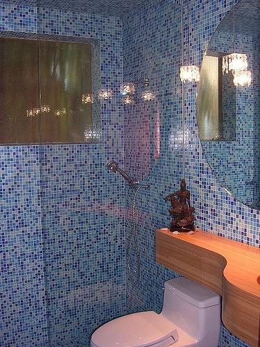 kitpollard_Houzz-modern-bathroom as seen on Slipcovers for your walls