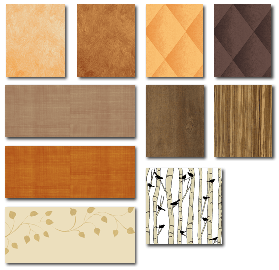 Casart coverings Oranges browns on Slipcovers for your walls casartblog