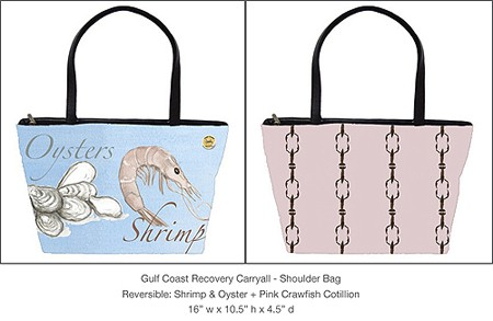 Casart_GCR_Shrimp-Oyster-Pink-Crawfish-Cotillion_Carryall_casartblog