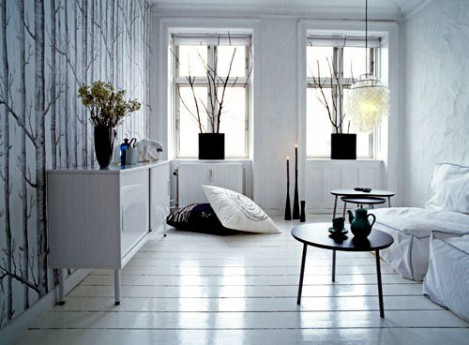White-Apartment-Interior-Design on Casartblog