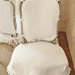 Lauren Ross' Monogrammed Chair Slipcovers_casartblog