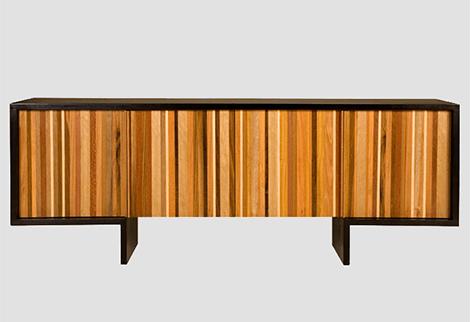 Cercadinho , a Recycled Wood Dresser via Lyring.com, seen on casartblog