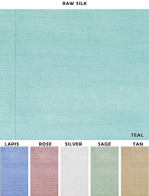 Casart coverings removable RawSilk designer wallcovering sample