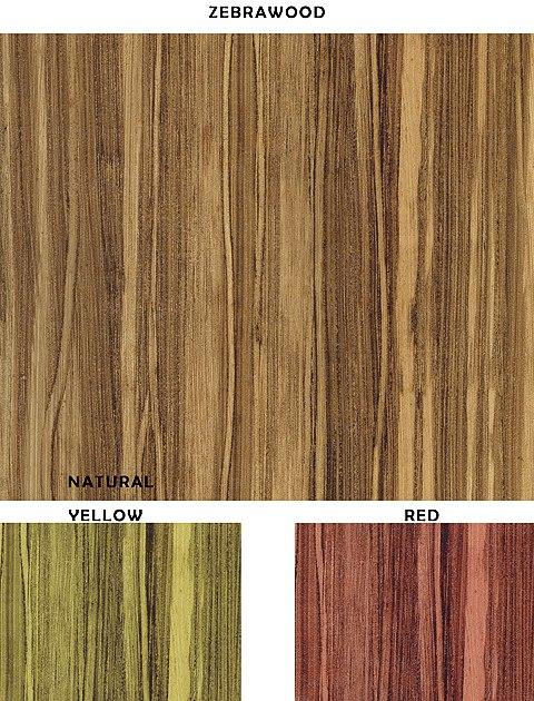 Casart removable zebrawood designer wallcovering sample