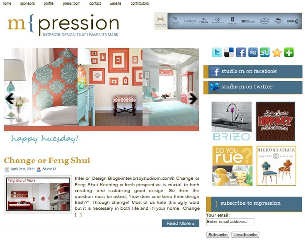 Studio-M_Blog, seen on Slipcovers for your walls, casart coverings blog