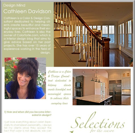 Casart Coverings features Cathleen_Davidson feature on Slipcovers for your walls, casartblog