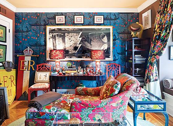 4-Nixon-Loecke den on Slipcovers for your walls, casartblog