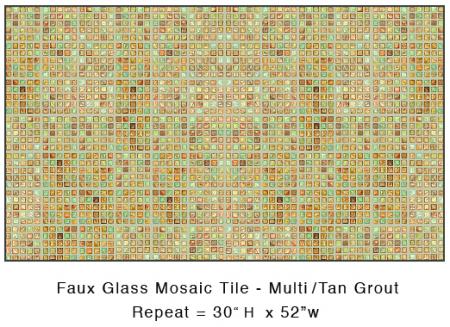 Casart-coverings_Multi colored Faux Glass Mosaic Tile_casartblog