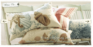 Pottery-Barn_Beach-Pillows on Slipcovers for your walls, casartblog