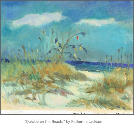 Casart-coverings_Katherine-Collection_ Quickie on the Beach scene_Gone Fishi_casartblog