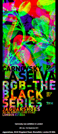 Carnvosky Exhibit as seen on Slipcovers for your walls, casartblog