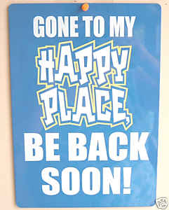 ebay - happy place, as seen on Slipcovers for your walls, casartblog