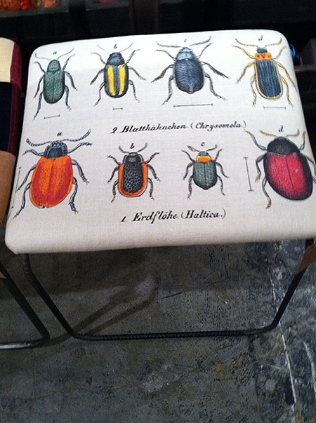 Kelly O'Neal-Design Legacy-bugs_casartblog, as seen on Slipcovers for your walls