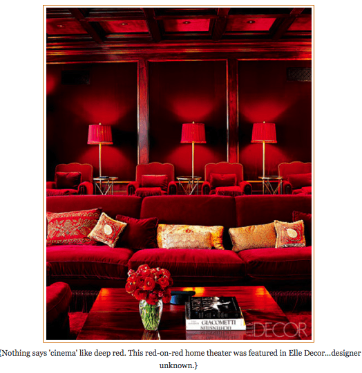 Red-lounge_PBC Style, as seen on Slipcovers for your walls, casartblog