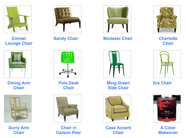 House Beautifu_Room&Board-chair giveaways, as seen on Slipcovers for your walls, casartblog