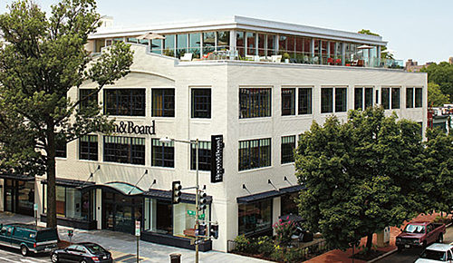 Room&Board store_washington_dc, as seen on Slipcovers for your walls, casartblog