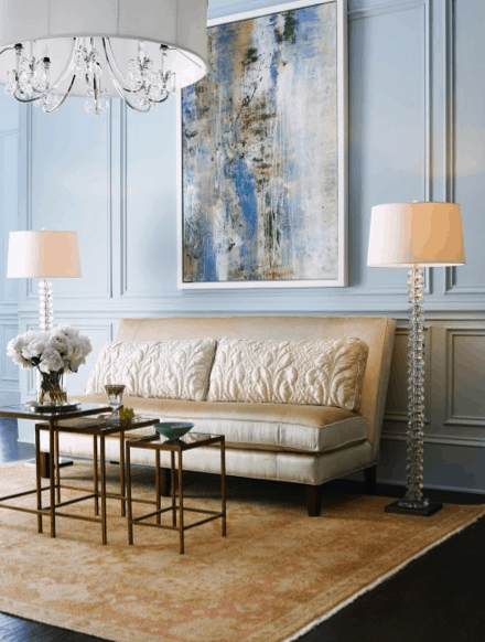 Horchow_room colors_Houzz, as seen on Slipcovers for your walls, casartblog