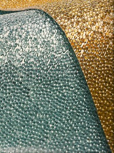 Casart coverings shows Maya-Romanoff_Bedazzled, as seen on Slipcovers for your walls, casartblog