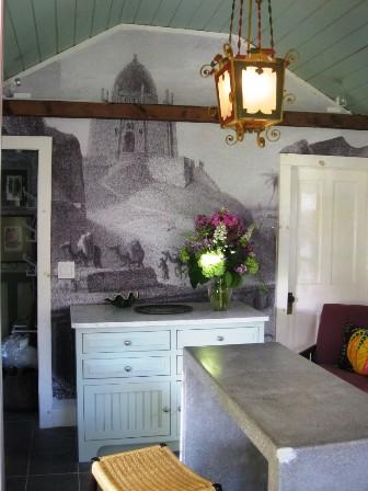 Custom Casart temporary wallpaper for John Loecke and Jason Oliver Nixon's Madcap Cottage_casartblog