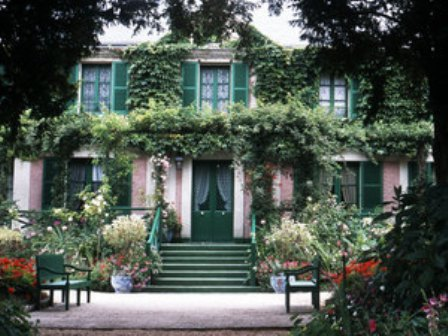 Monet's home at Giverny_casartblog